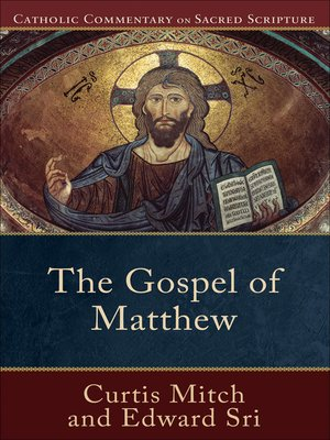 cover image for the gospel of matthew