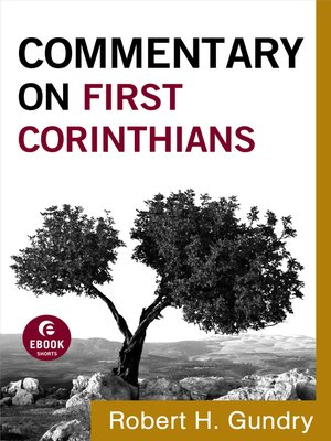 cover image of Commentary on First Corinthians