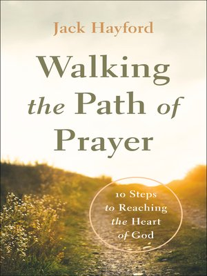 cover image of Walking the Path of Prayer