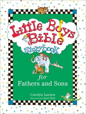 cover image of Little Boys Bible Storybook for Fathers and Sons