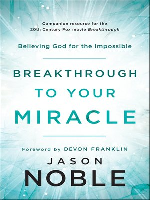 cover image of Breakthrough to Your Miracle