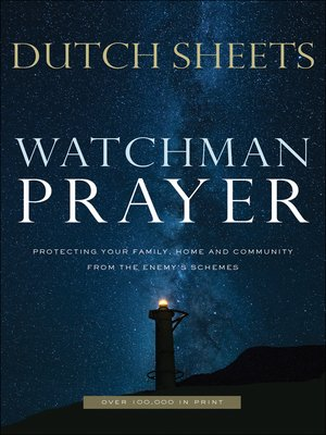 cover image of Watchman Prayer