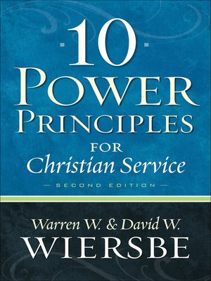 cover image of 10 Power Principles for Christian Service