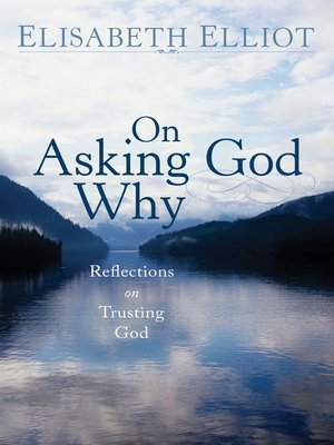 cover image of On Asking God Why