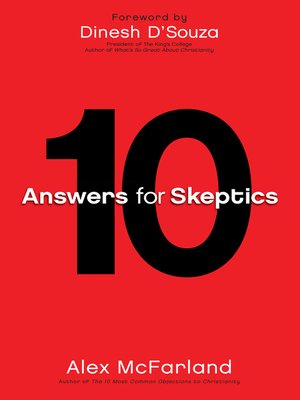 cover image of 10 Answers for Skeptics