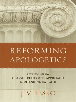 cover image of Reforming Apologetics