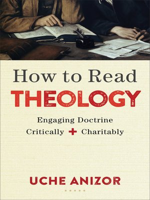 cover image of How to Read Theology