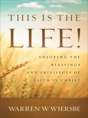 cover image of This Is the Life!
