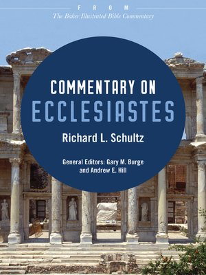 cover image of Commentary on Ecclesiastes