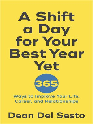 cover image of A Shift a Day for Your Best Year Yet