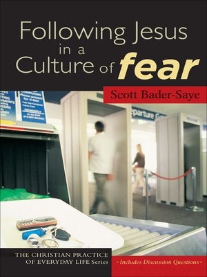 cover image of Following Jesus in a Culture of Fear