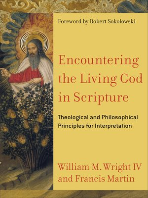cover image of Encountering the Living God in Scripture