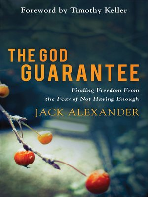 cover image of The God Guarantee