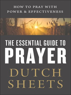 cover image of The Essential Guide to Prayer