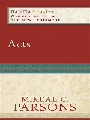 cover image of Acts