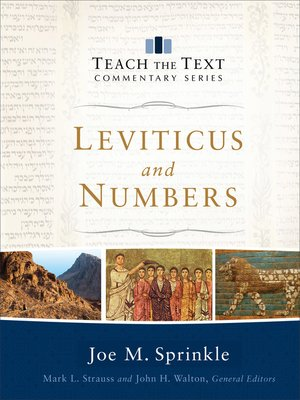 cover image of Leviticus and Numbers