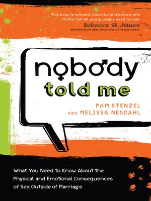 cover image of Nobody Told Me