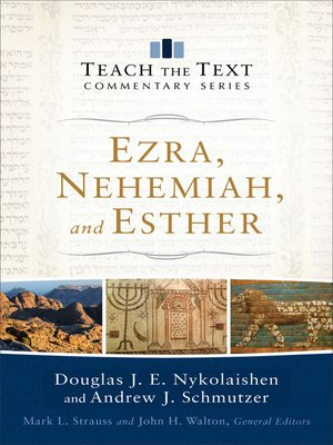 cover image of Ezra, Nehemiah, and Esther