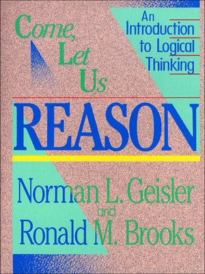 cover image of Come, Let Us Reason