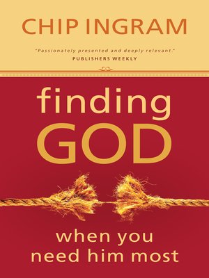 cover image of Finding God When You Need Him Most