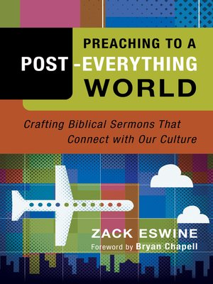 cover image of Preaching to a Post-Everything World