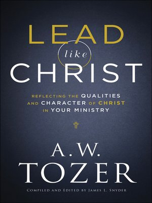 cover image of Lead like Christ