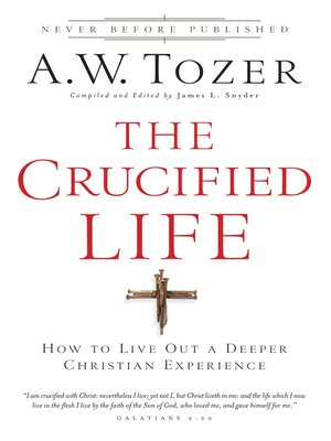 cover image of The Crucified Life