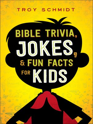 cover image of Bible Trivia, Jokes, and Fun Facts for Kids