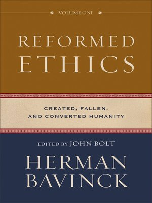 cover image of Reformed Ethics, Volume 1