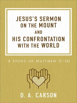 cover image of Jesus's Sermon on the Mount and His Confrontation with the World