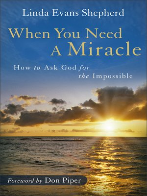 cover image of When You Need a Miracle