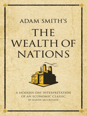 cover image of Adam Smith's The Wealth of Nations