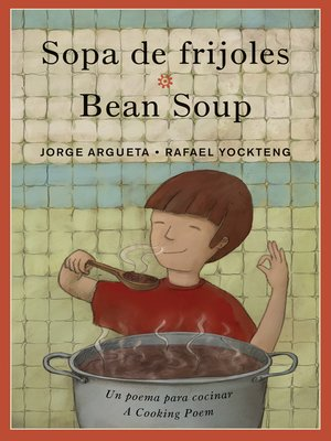cover image of Sopa de frijoles / Bean Soup