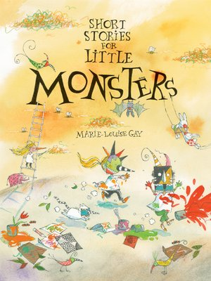 cover image of Short Stories for Little Monsters