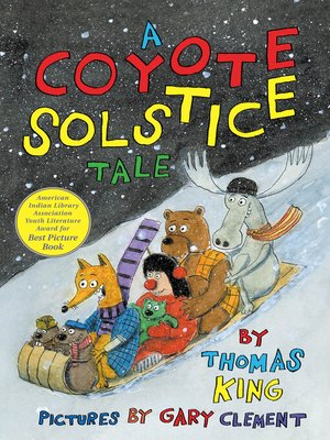 cover image of A Coyote Solstice Tale