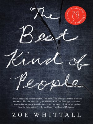 cover image of The Best Kind of People