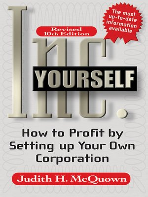 cover image of Inc. Yourself