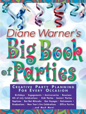 cover image of Diane Warner's Big Book of Parties