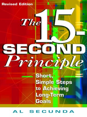 cover image of The 15-Second Principle