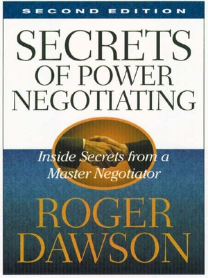 cover image of Secrets of Power Negotiating