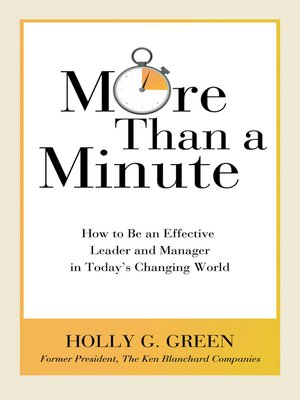 cover image of More Than a Minute