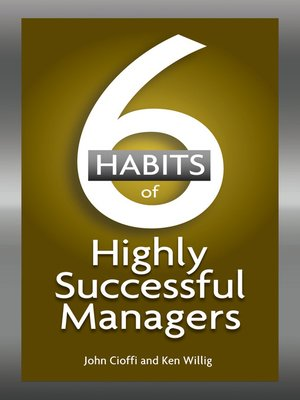 cover image of 6 Habits of Highly Successful Managers