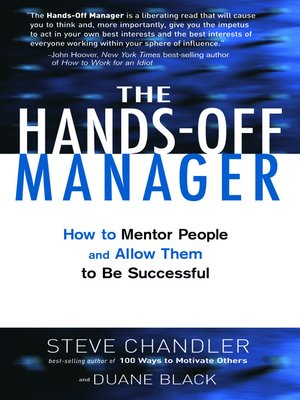 cover image of The Hands Off Manager