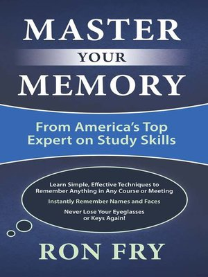 cover image of Master Your Memory