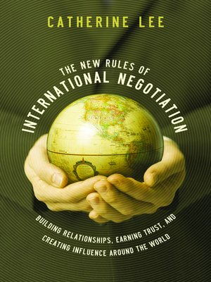 cover image of The New Rules of International Negotiation