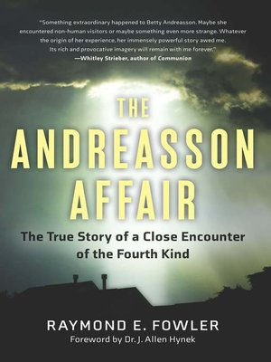 cover image of The Andreasson Affair