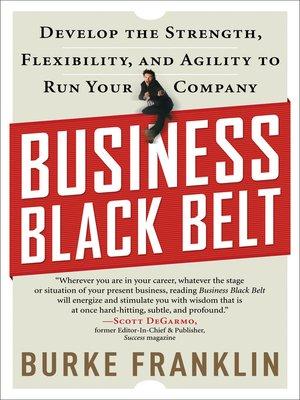 cover image of Business Black Belt
