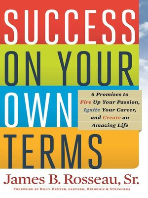 cover image of Success on Your Own Terms