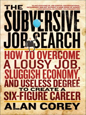 cover image of The Subversive Job-Search