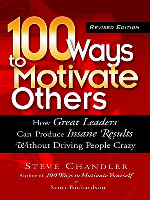 cover image of 100 Ways to Motivate Others